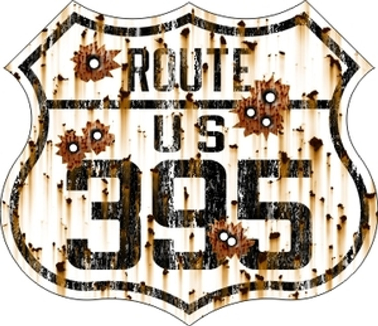 395 Bullet Holes Sticker (Large)