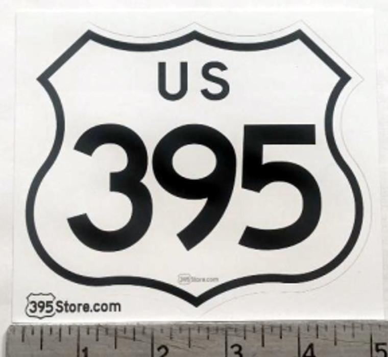 US 395 Sticker (Large)