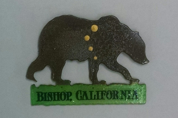 Metal Bear Magnet