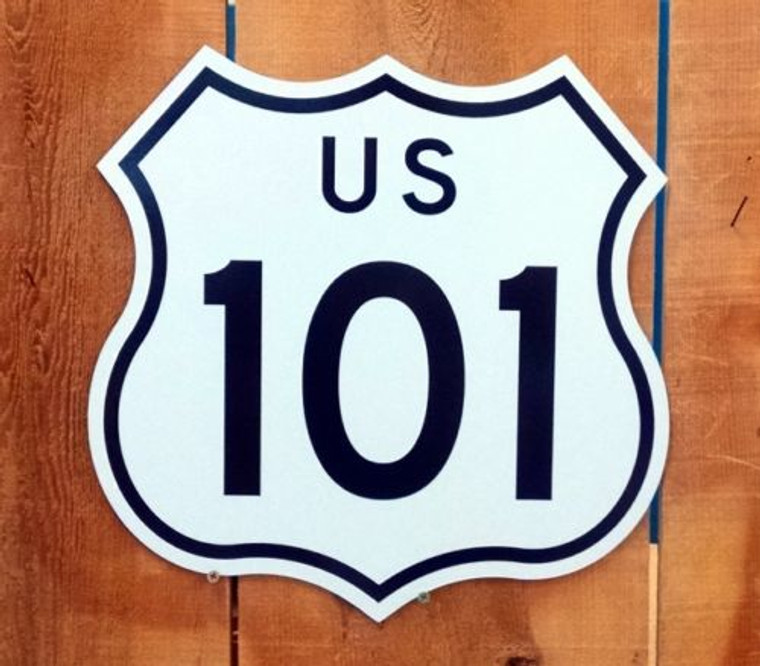 Highway Route 101 Sign