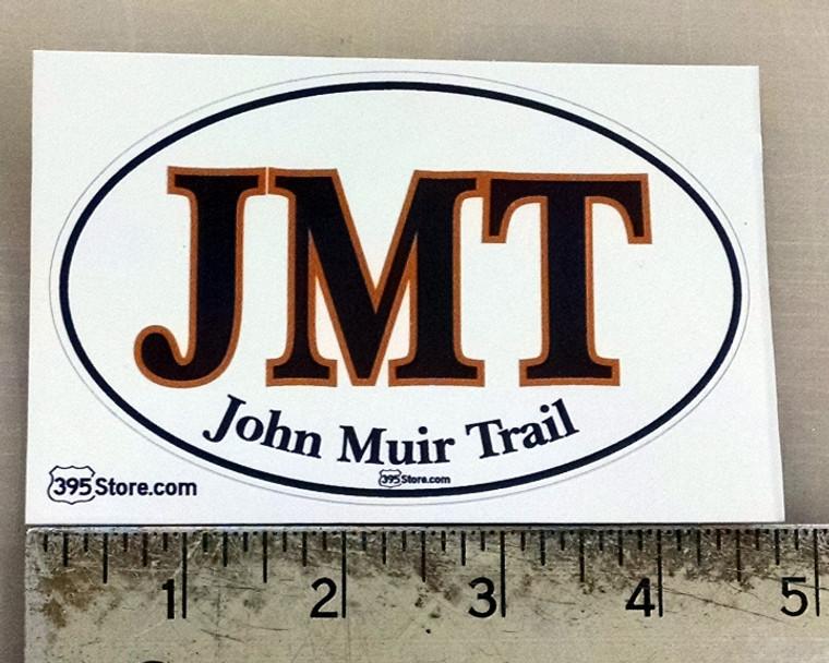 JMT John Muir Trail Oval Sticker