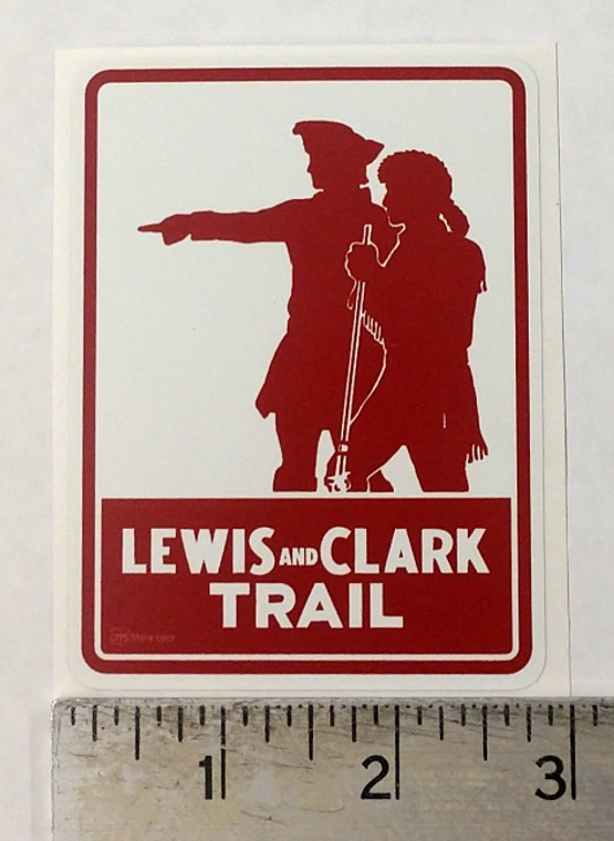 Lewis and Clark Trail Montana Route 93 Sticker