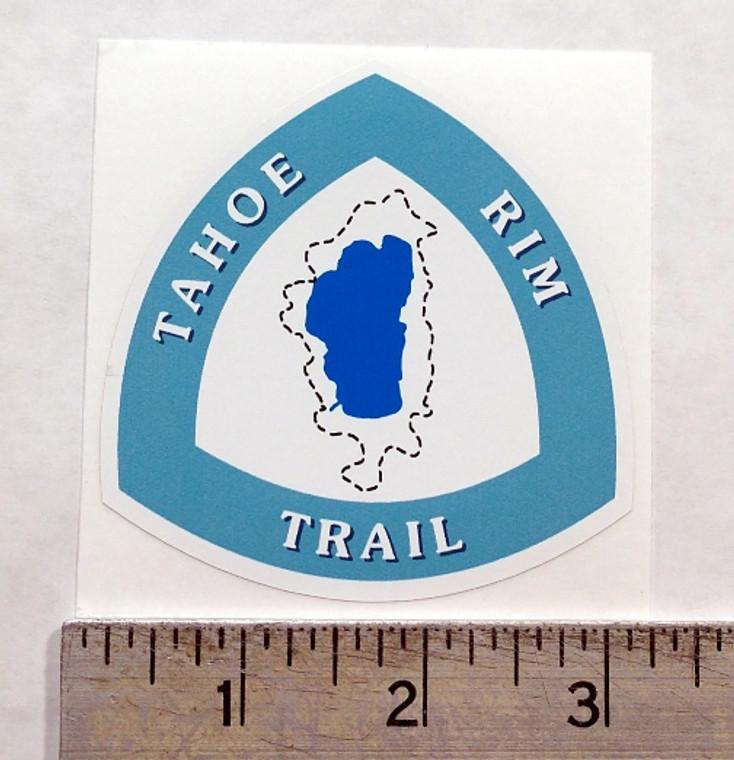 Tahoe Rim Trail Sign Sticker