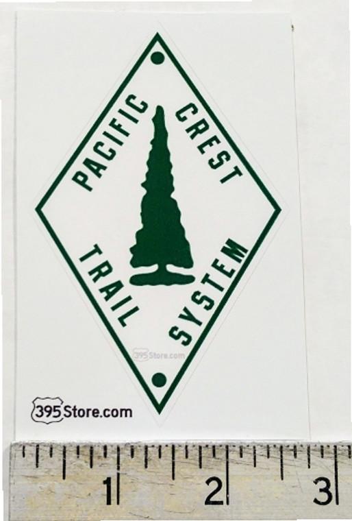 Pacific Crest Trail  PCT Retro Sign Sticker