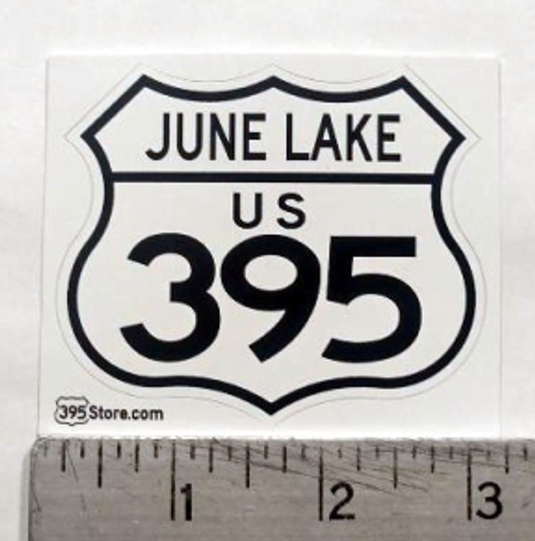 June Lake 395 Sticker