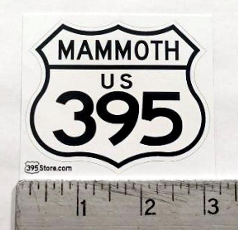 Mammoth 395 Sticker