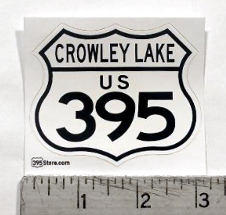 Crowley Lake 395 Sticker