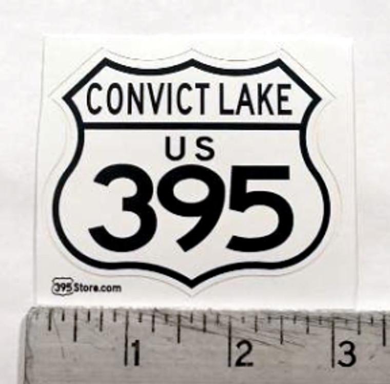 Convict Lake 395 Sticker