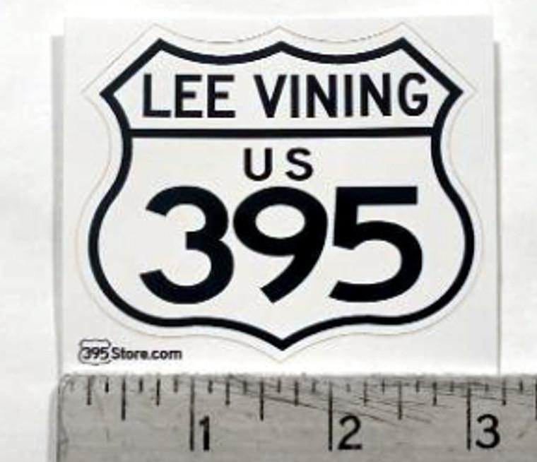 Lee Vining 395 Sticker