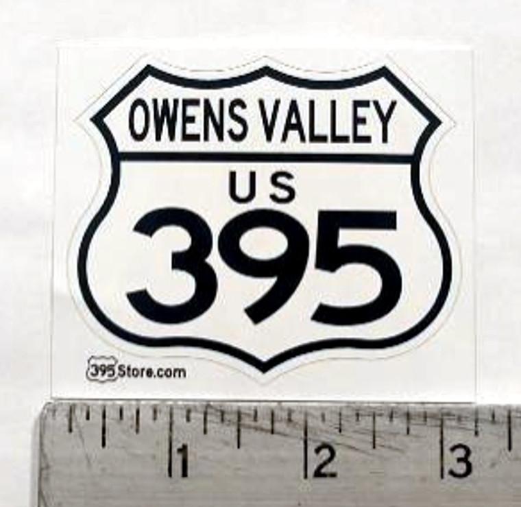 Owens Valley 395 Sticker