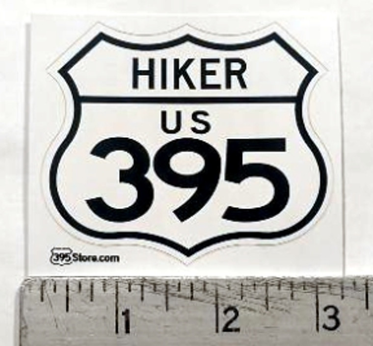 Hiker 395 Sticker