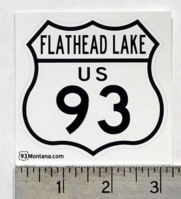 Flathead Lake Montana 93 Sticker
