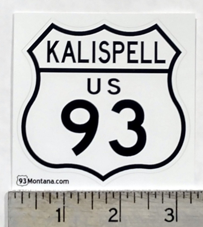 Kalispell Montana 93 Sticker