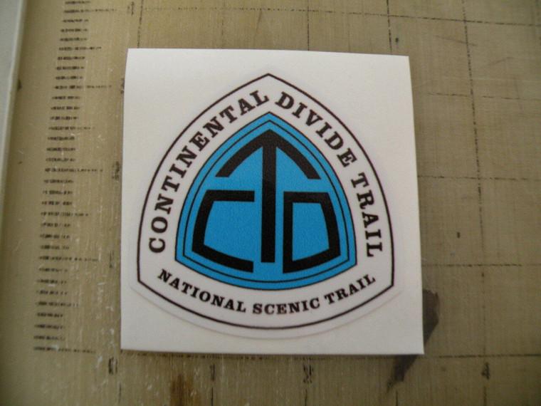 CDT Continental Divide Trail Sign Sticker