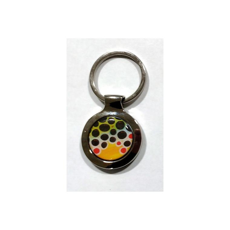 Brown Trout Keychain