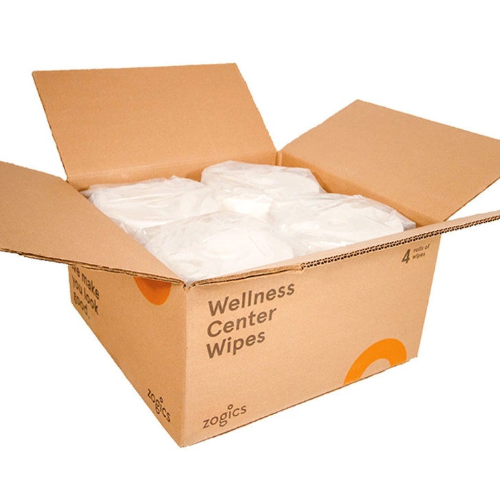"""Specifications Roll Count4 rolls/case Wipe Count1,150 wipes/roll, 4,600 total wipes Roll Dimensions9"""" h x 8.5"""" d Wipe Dimensions9"""" h x 6"""" w FragranceA clean, fresh scent"""