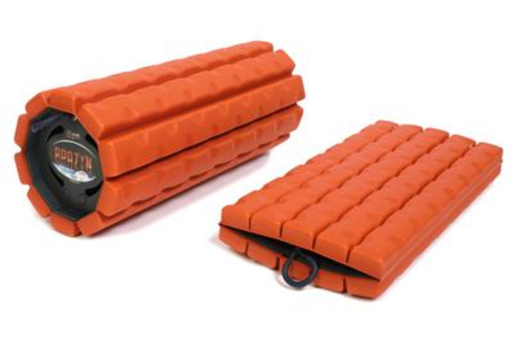 The most portable/storable foam roller in the world, THE MORPH provides the usability and functionality of a standard size foam roller with groundbreaking Collapsible Core Technology. Now you can take care of your body anywhere and anytime.   No compromises.