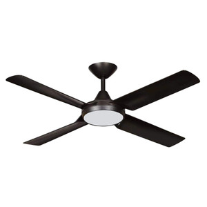 Complete with an energy efficient 18 watt CCT LED. Imagine the choice of a DC ceiling fan operated with either wall control, remote or both. A modern Stylish DC ceiling fan complete with a 240V wall control & remote included in the box.