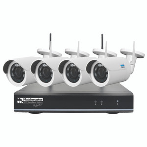 Wi-Fi CCTV Security Kit 2TB Storage with 4x 2MP Cameras