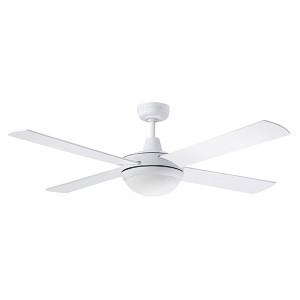 The Lifestyle series is simple yet elegant and extremely functional. The fan comes in 3 modern colour finishes. Includes 24W TriColour Dimmable LED Light.