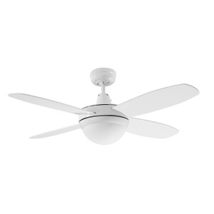 The Lifestyle Mini series is simple yet elegant and extremely functional. The fan comes in a simplistic and modern colour finish. Includes 2 x E27 Lamp Holders (Globes NOT Included).