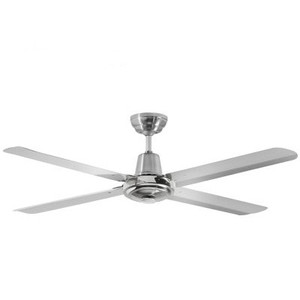 The Trisera is a silicon coated aluminium fan with a sleek modern design and powerful performance. Available in 3 sizes and 2 colours. Also features a unique option to adapt to 3 or 4 blade depending on preference.