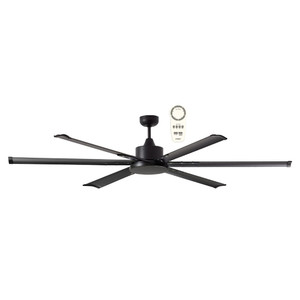 """The Albatross 84"""" DC ceiling fan is Martec's largest ceiling fan. This powerful and efficient fan comes with a 35W brushless DC motor and is also available in 72"""" (1800mm) diameter. Includes a 5 speed remote control with a timer and reverse functions, for added convenience."""
