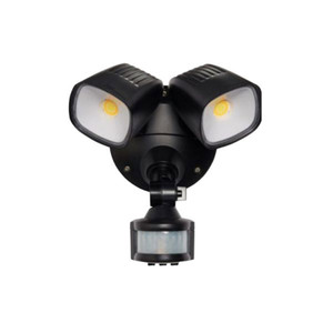Ranger is a durable and modern designed TriColour LED security light. It features an adjustable head and can be wall or ceiling mounted. Making the Ranger the perfect light for entry ways, alfresco, garages and walkways. Also available without PIR sensor.