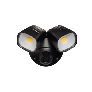 Ranger is a durable and modern designed TriColour LED security light. It features an adjustable head and can be wall or ceiling mounted. Making the Ranger the perfect light for entry ways, alfresco, garages and walkways. Also available with PIR sensor.