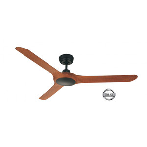 1570mm Fully Moulded Polycarbonate Composite 3 Blade Ceiling Fan with True Spin Technology™ motor. Suitable for both indoor/covered outdoor, coastal and commercial applications.