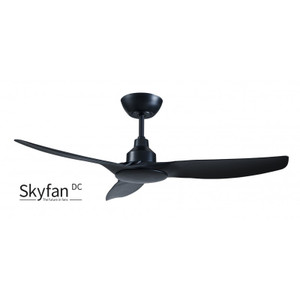 1200mm Intelligent Energy Saving DC 3 Blade Ceiling fan with LCD Remote Control included. Suitable for indoor and covered outdoor use.