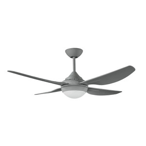 New Generation 1220mm precision moulded ABS 4 blade white ceiling fan with 18W LED light included. Suitable for indoor and covered outdoor areas.