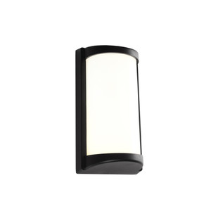 Logan is a 10W LED Exterior Wall Light with Opal Acrylic Lens and Black Aluminium Contruction. Suited for Coastal Areas on Exterior Walls, Under Eaves, Patios and Alfresco Areas.