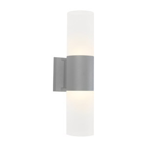Ottawa is a Cylinder Type Energy Saving LED Exterior with Frosted Acrylic Lens and Silver Aluminium Finish. Suitable for Coastal Areas with IP54 Direct Weather Exposure Outdoor Rating.