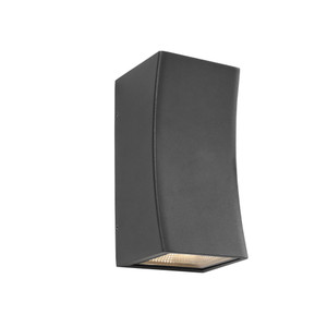 Ramada is a 2 Light Exterior Up/Down Wall Light with Charcoal Finish and Clear Glass Lens. Features 2 x 5W Integrated LEDs and IP54 Outdoor Weather Exposure Rating, the Ramada is Perfect for Patios, Entraceways and Exterior Walls.