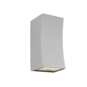 Ramada is a 2 Light Exterior Up/Down Wall Light with Silver Finish and Clear Glass Lens. Features 2 x 5W Integrated LEDs and IP54 Outdoor Weather Exposure Rating, the Ramada is Perfect for Patios, Entraceways and Exterior Walls.