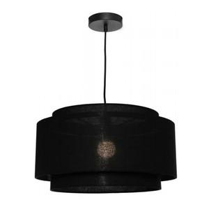 Bern 1 Light Pendant Black Large
