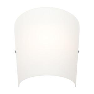 Holly 1 Light Wall Sconce Matt Opal Small