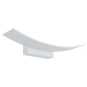 Larz is a Smart Modern LED Wall Light with White Finish and Attractive Curved Design. A Trendy Piece Perfect for Bedrooms, Living and Entertaining Areas.
