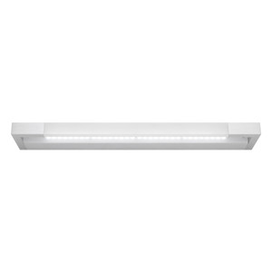 Lynx is a Smooth Modern LED Vanity Wall Light with Aluminium Finish and Frosted Acrylic Lens. Includes 16W Dimmable LED. Perfect for Bathrooms and Vanity Area with Bright Light Output and Stylish Finish.