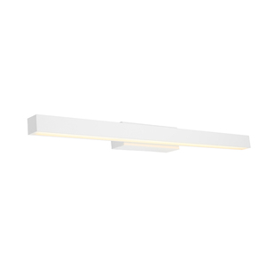 Polo is a Sleek, Clean Looking White LED Vanity Wall Light with Opal Acrylic Lens and 16W LED. Perfect for Bathrooms and Vanity Areas as Well as Bedroom, Hallway and Living Room Walls.