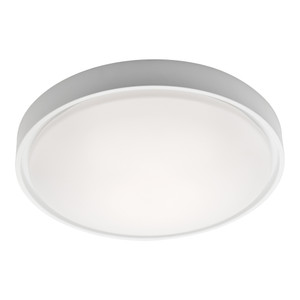 Sorel is a Clean Crisp Dome Shaped LED Oyster with White Finish and Opal Acrylic Lens. Suitable for Both Indoors in Wet Areas like Bathrooms as well as Outdoors in Covered Areas. Includes 27W Dimmable SMD LED Panel with High Light Output.