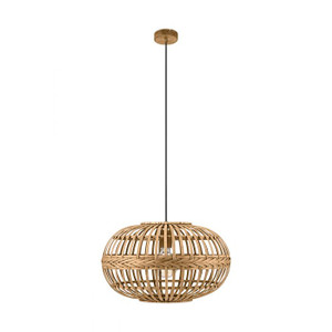 Add warmth to your living areas with the AMSFIELD pendant range, available in natural cane finish.
