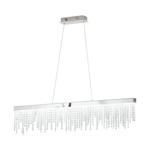 This crystal suspended lamp series ensures an extraordinary statement piece, and a luxurious feel to your home.