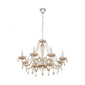 The BASILANO series comes in various pendant options and features a unique cognac colour glass.