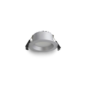 7W LED Tri-colour Downlight with Dimmable Driver Silver