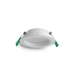 10W LED Downlight with Dimmable Driver and Plastic Trim White