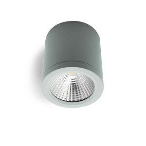 25W LED Downlight Dimmable Surface Mount Silver