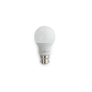 9.4W A60 LED lamp. Non dimmable. Frosted lens