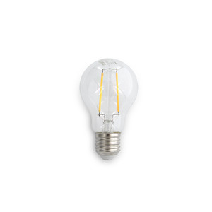 5W A60 LED lamp. Dimmable. Clear lens